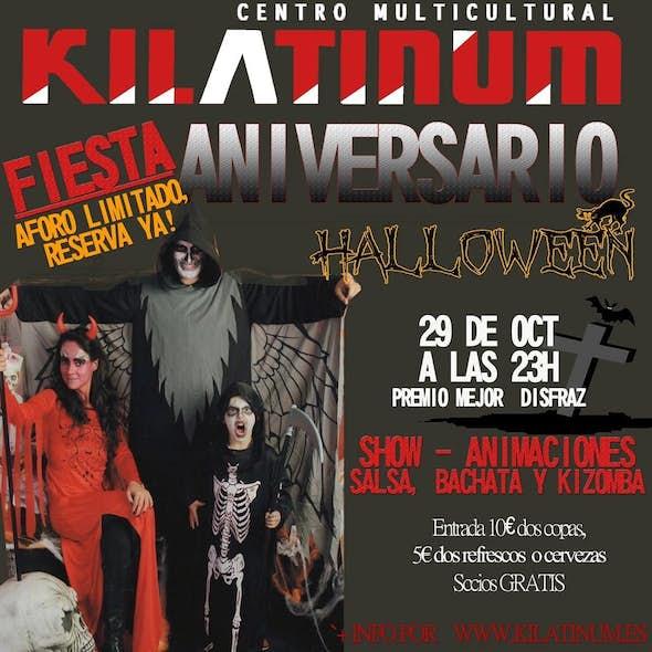 Halloween - Aniversario Kilatinum