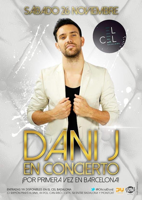 Dani J concert in Barcelona - December 2016
