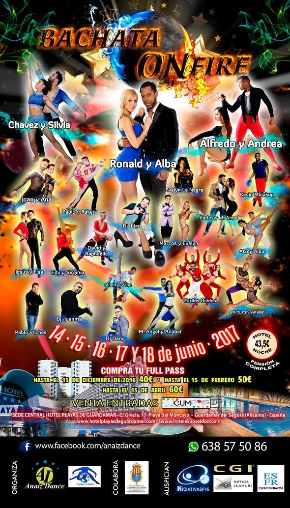 Bachata On Fire Festival 2017