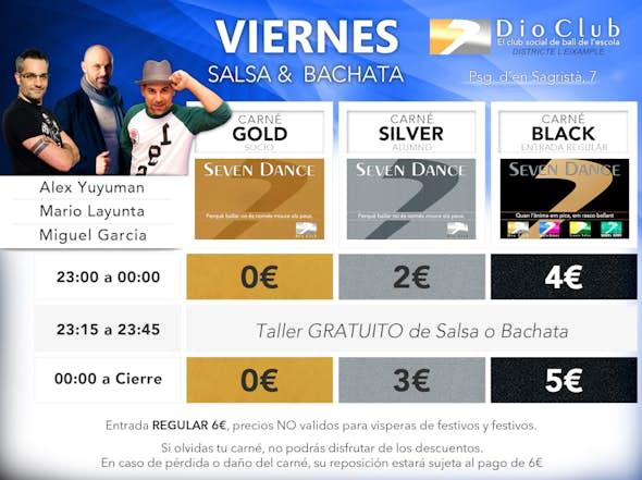 Salsa & Bachata Seven Dance (Eixample)