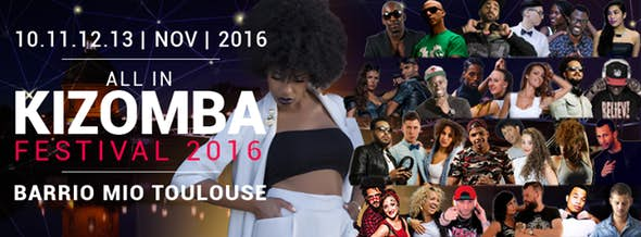 All in Kizomba Festival Toulouse 2016 (1ª Edición)