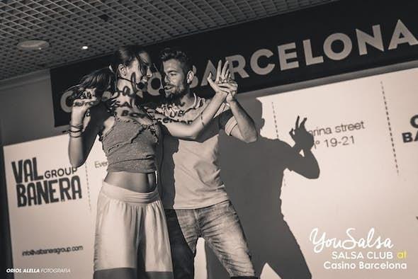 Salsa L.A. con Juanjo Oller y Sandra Mata feat Dj Quique Aguilar