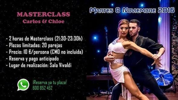 Masterclass de Bachata (Carlos & Chloe, desde Australia)