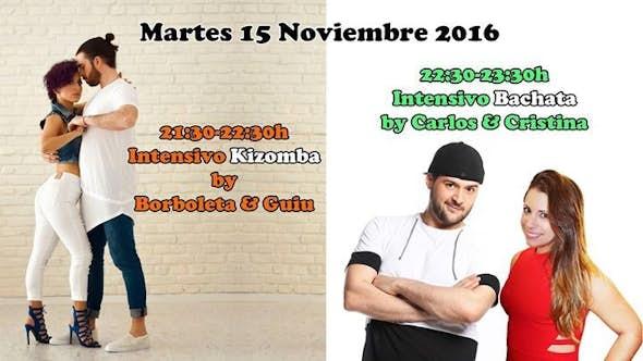 "Kizomba ""Borboleta & Guiu"" + Bachata ""Carlos & Cristina"""