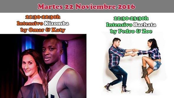 """Kizomba """"Omar & Katy"""" + Bachata """"Pedro & Zoe"""""""