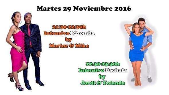 "Kizomba ""Marine & Mika"" + Bachata ""Jordi & Yolanda"""