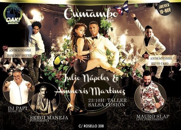Thursday 10th - Cumambo Barcelona