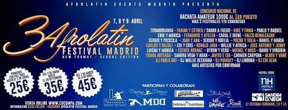 Afrolatin Festival Madrid 2017 (3rd Edition)