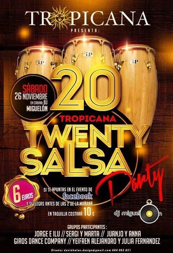 Tropicana Twenty Salsa Party