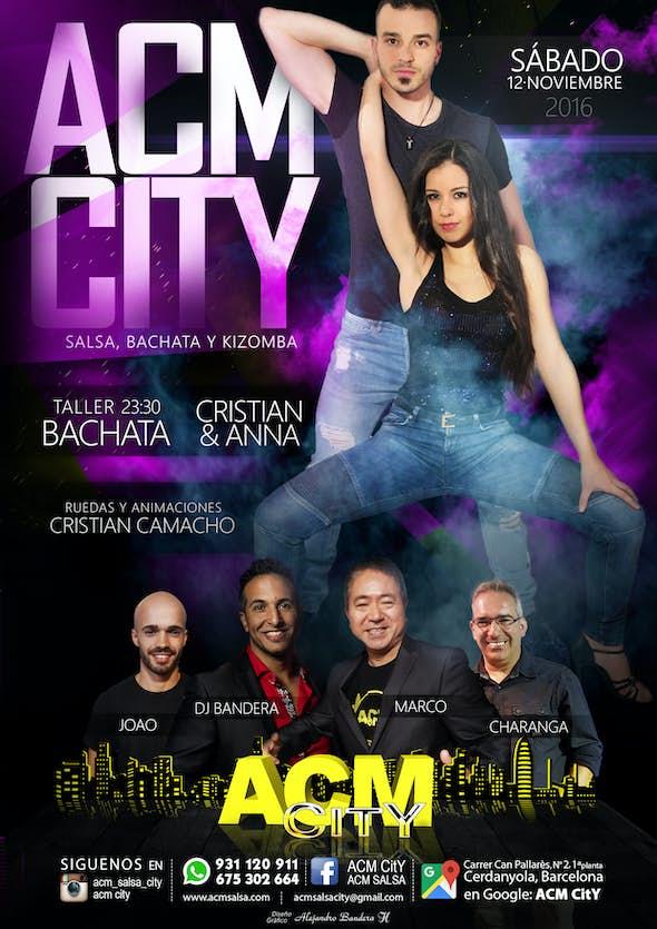 Sábado: Bachata en ACM CitY