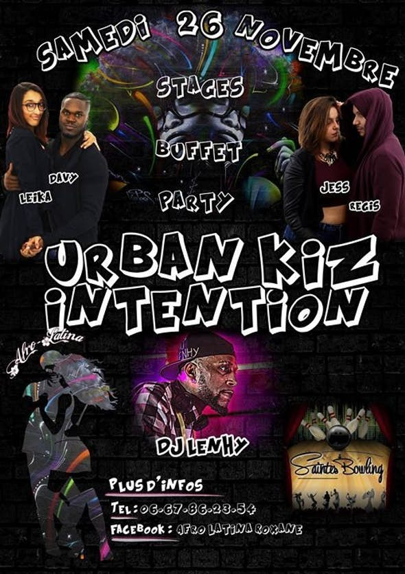 Urban Kiz Intention 2016 (1ª Edición)