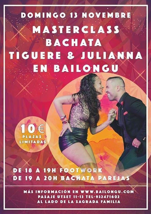 Masterclass Tiguere & Juliana in Bailongu