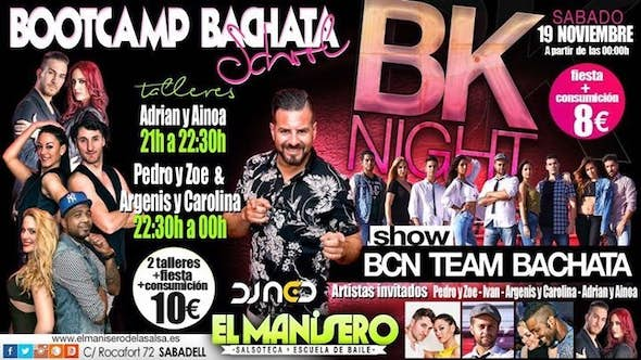 BOOT CAMP Bachata + Party
