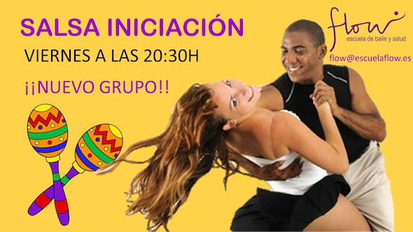 New group of salsa for beginners