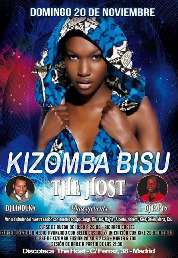 ★The Host Kizomba Bisú★ Domingo 20 de Noviembre de 2016
