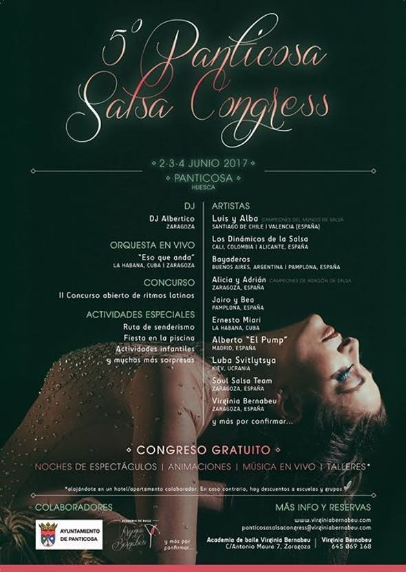 Panticosa SALSA Congress 2017