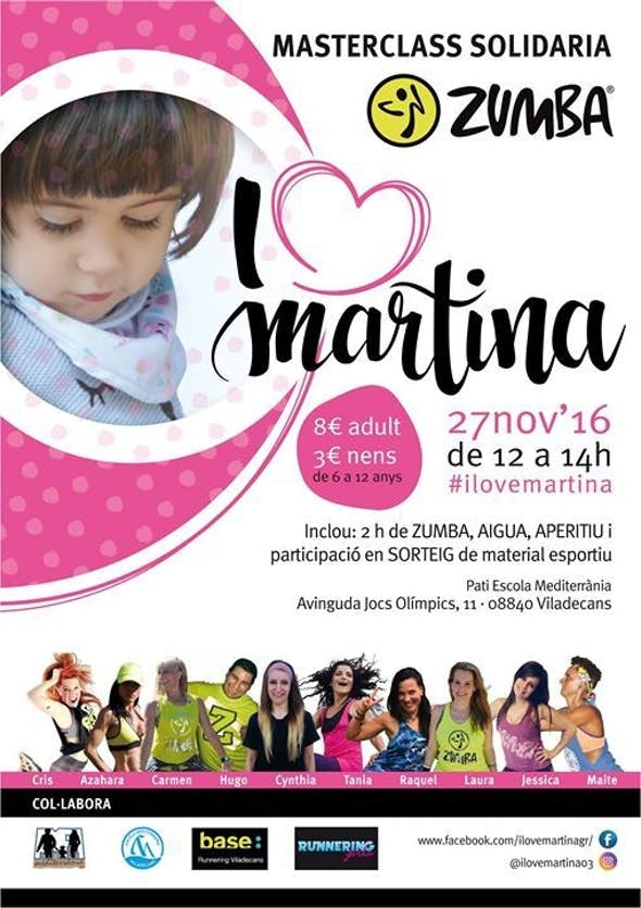Masterclass Solidaria I Love Martina