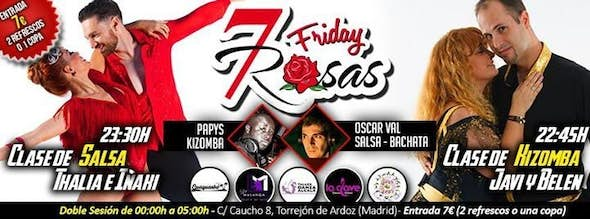 FRIDAY'S PARTY in 7 Rosas Salsa