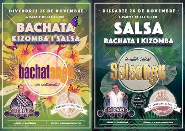 Bachatongu and Salsongu, 25 and 26 november
