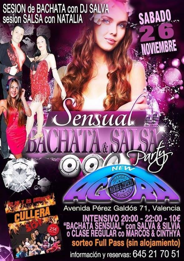Sensual Bachata y Salsa Party AGORA Valencia