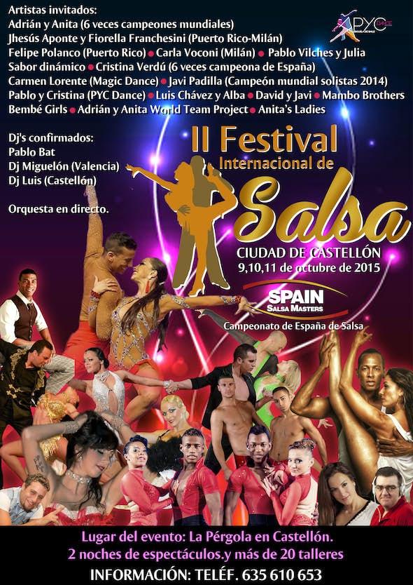 SALSA FESTIVAL CIUDAD DE CASTELLÓN - SPAIN SALSA MASTERS