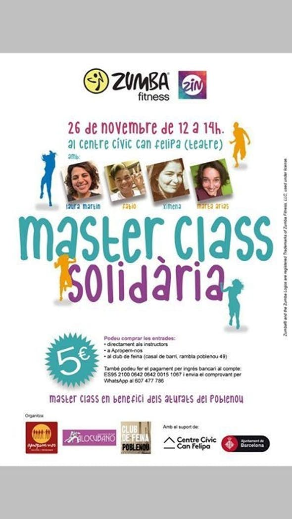 Master Class of solidary ZUMBA
