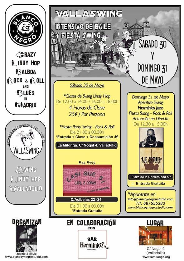 VallaSwing Fest 30 y 31 de Mayo