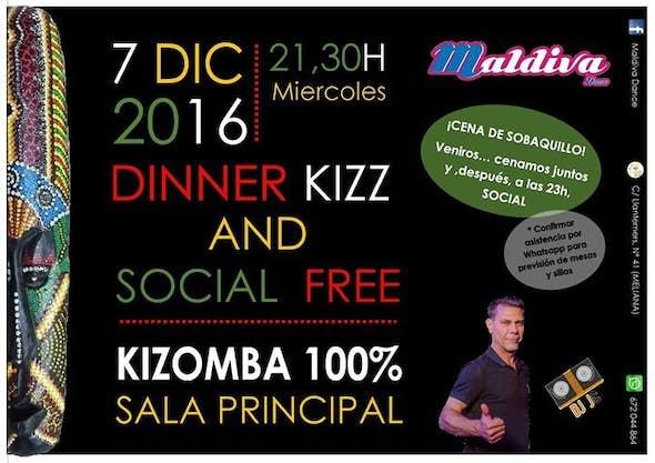 Dinner kizz and social Free