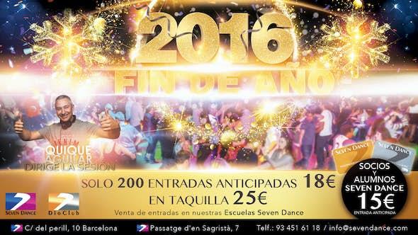 Fin de Año 2016 en Dio Club