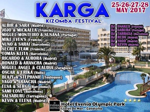 Karga Kizomba Festival 2017 (2ª Edición)