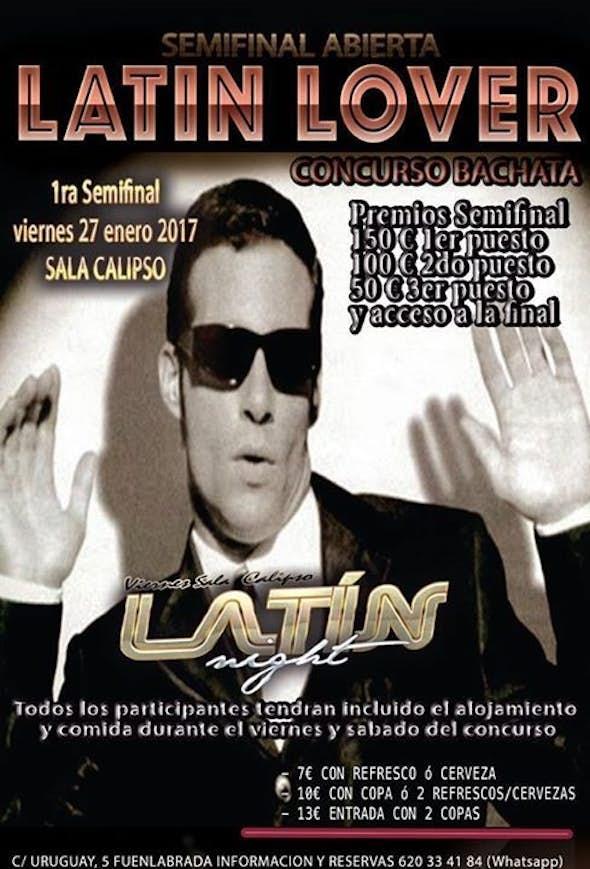 1ra Semifinal LATIN LOVER V27/01/2017- Competencia Bachata
