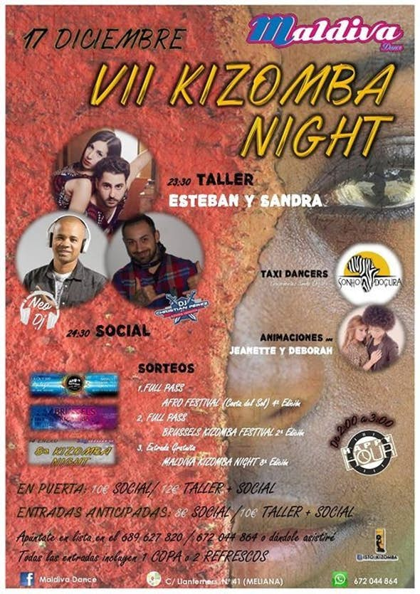 VII Kizomba NIGHT
