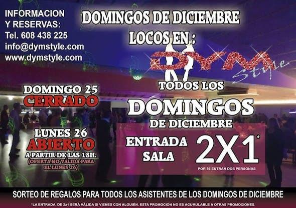 2X1 Domingos de Diciembre