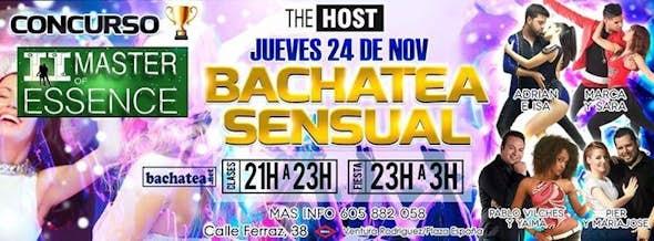 23/11 Bachatea Sensual The Host
