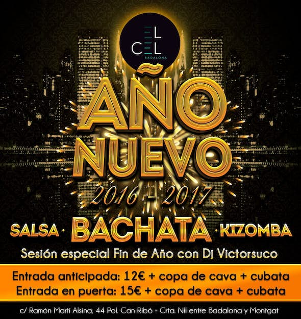 New Year's Eve Party at el Cel de Badalona