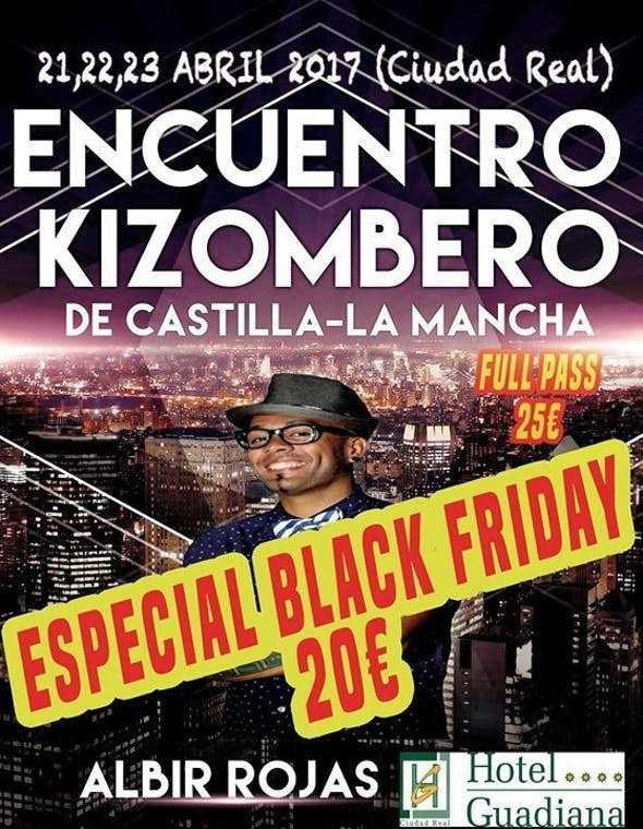 Encuentro Kizombero De Castilla-La Mancha 2017 (1ª Edición)