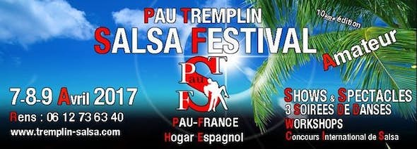 "Pau Tremplin Salsa Festival ""Amateur"" 2017 (10th Edition)"