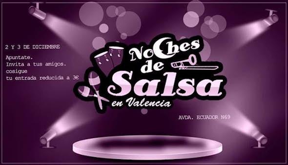 2 y 3 DIC. Noches De Salsa entrada Reducida 3€+consumición*