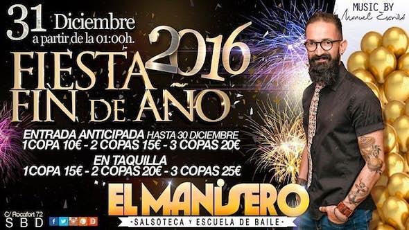 New Year's Eve party at el Manisero de la Salsa