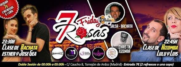Friday at 7 ROSAS SALSA