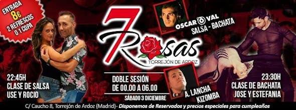 Saturdays at 7 Rosas Salsa