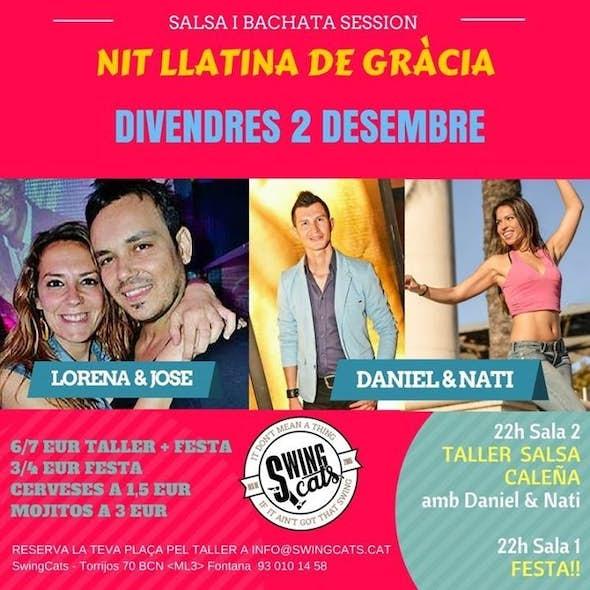 Latin Night in Gràcia (Class + Party)