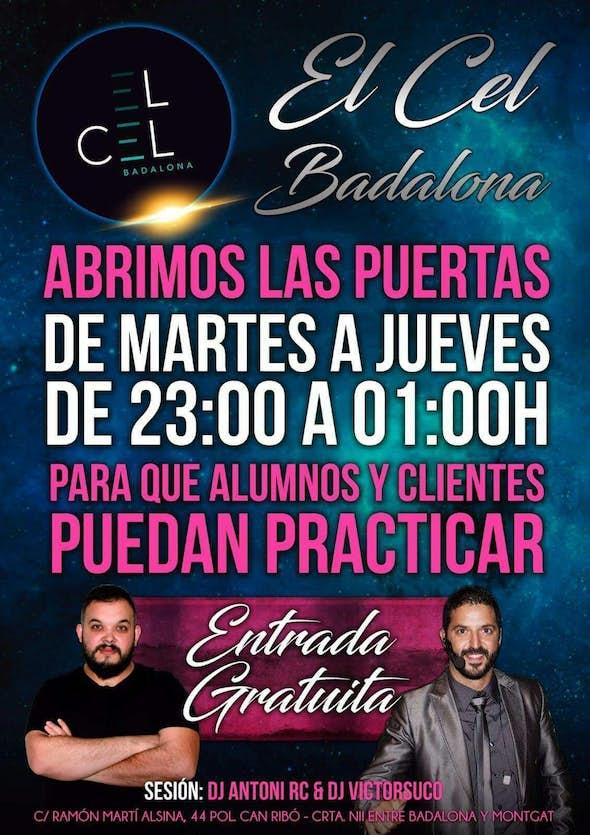 Wednesday dance at El Cel Badalona