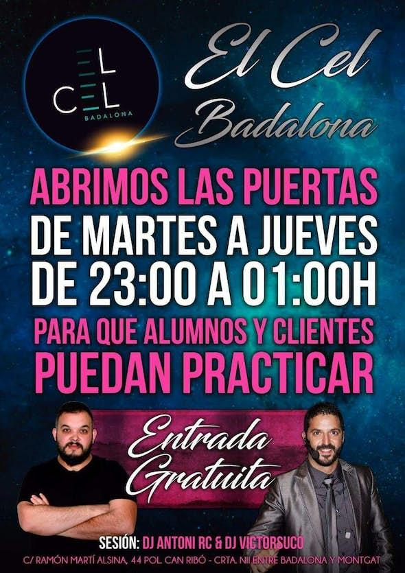 Tuesday at El Cel Badalona