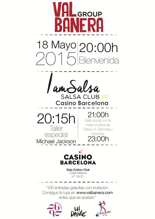 IamSalsa at Casino Barcelona