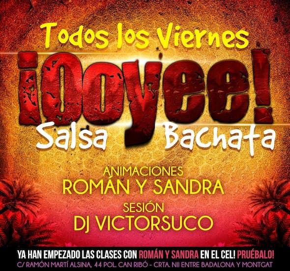 Friday salsa and bachata at El Cel Badalona