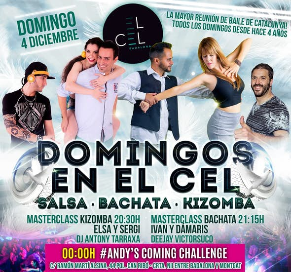 Sundays at El Cel Badalona