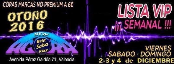 """Lista """"VIP"""" *3€*Viernes 2 Y Sabado 3 Diciembre"""