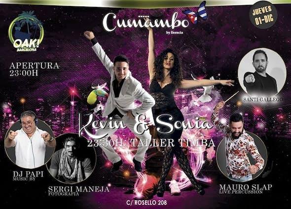 Thursday 1 - Workshop Kevin & Sonia - DJ Papi & Mauro Slap