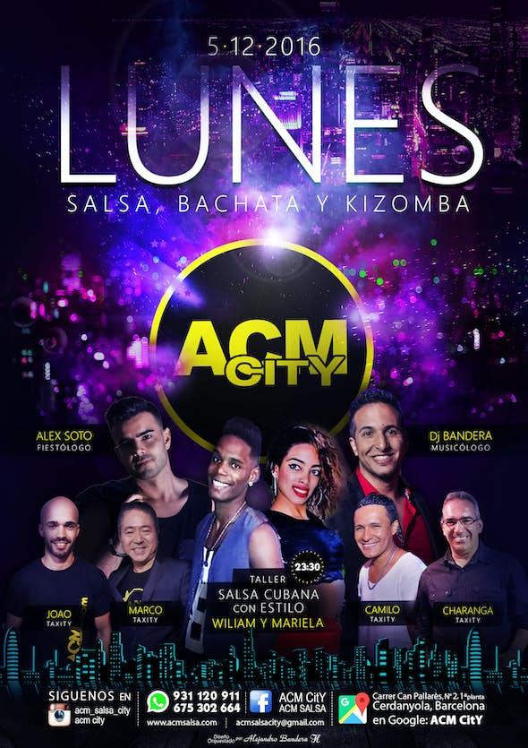 Lunes, 5: SALSA CUBANA en ACM CitY